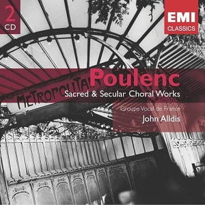 Musique Profane de Francis Poulenc, Groupe Vocal de France, (Direction John Alldis)